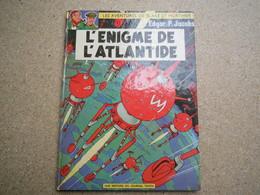 BD Blake Et Mortimer N°6. L'Énigme De L'Atlantide, De Edgar Pierre Jacobs, Lombard, 1970-  4B010320 - Blake Et Mortimer