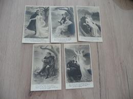Illustrateur Charles Naillot 1904 Série 5 CPA Amoureux Avant 1906 TBE - Naillod