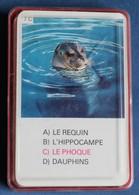 Jeu De Cartes 7 Familles Vintage Années 70 Les Animaux N°2 Hemma Schmid - Speelkaarten