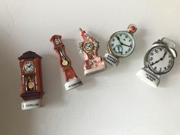 Fèves Le Lot De 5 Horloges - Autres