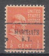 USA Precancel Vorausentwertung Preo, Locals New York, Marcellus 704 - Vereinigte Staaten