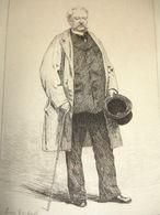 COMÉDIENS & COMÉDIENNES XIXe / EAU FORTE / Adolphe Dupuis - Lithographies
