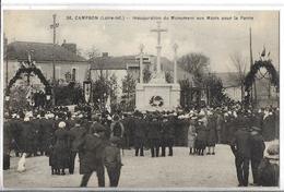 CAMPBON  N 36  INAUGURATION MONUMENT AUX MORTS FOULE  DEPT 44 - Otros Municipios