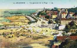 CPA ARCACHON - GIRONDE - VUE GENERALE - Arcachon