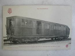 FERROVIAIRE - Locomotive - Coll. F. Fleury - Voiture Automotrice à Boggies Cie Métro De Paris - 3ème Type - Trains