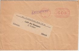 DR-Infla 60 M. Gebühren-Freistempel Zeitungsschleife I.d. SCHWEIZ Berlin 11.6.23 - Deutschland