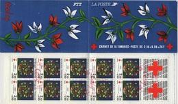 FR C 3 - FRANCE Carnet C 2033 Croix-Rouge 1984 Obl. Rouge - Croix Rouge