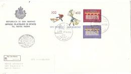 RACCOMANDATA CON EUROPA 1984 FDC - Lettres & Documents