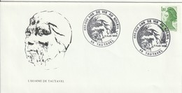 """OT De """"Tautavel - 66, Pyrénées Atlantiques"""" Du 03-08-1985, """"450 000 Ans De Vie Au Soleil"""" Sur YT 2378 - Cachets Commémoratifs"""