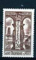 Timbre De France N°302 De 1935 Cloitre De St Trophime à Arles Neuf** - Ongebruikt