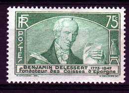 Timbre De France N°303 De 1935 Caisses D'épargnes Neuf** - Ongebruikt