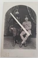 1917 Officiers Français 106 Eme 65 Eme RI Croix De Guerre Citations Briscards Tranchée Poilu Ww1 1914 Carte Photo - Guerre, Militaire