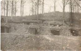 Guerre 14/18 Abris Près Des Tranchées ( Front De L'Est ) 13x8 - Guerre, Militaire
