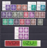 DDR - 1954/65 - Dienstmarken - Sammlung - Gest./Postfrisch - DDR