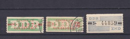 DDR - Dienstmarken - 1959 - Michel Nr. 26+30/31 - Gest./Postfrisch - 46 Euro - DDR