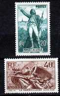 Timbres De France N°314 Et 315 De 1936 Rouget De Lisle Neuf** - Neufs