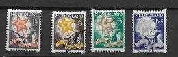 1932 USED  Nederland, Pays-Bas, NVPH R98-101 Roltanding - Periode 1891-1948 (Wilhelmina)