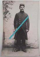1914 Fantassin Grand Bléssé 57 Eme Régiment D'infanterie Libourne Tranchée Poilu Ww1 1914 Carte Phot - Guerre, Militaire
