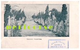 Lima   Cimenterio Général - Pérou