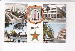 CPA  ,PHOTO MEKNES, MULTIVUES - Meknès
