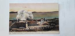 Cp Artillerie Forteresse Française - Manoeuvres