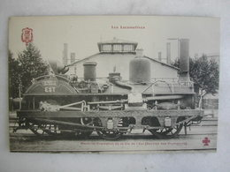 FERROVIAIRE - Locomotive - Coll. F. Fleury - Machine Crampton De La Cie De L'Est (service Des Voyageurs) - Trains