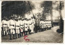 POSTE DE BONG SON . REMISE DECORATIONS AUX MILICIENS . 1931.TONKIN - Guerre, Militaire