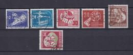 DDR - 1950/51 - Michel Nr. 246/47+250+275+289/90 - Gest. - 88 Euro - DDR