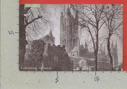 CARTOLINA VG REGNO UNITO - CANTERBURY - Cathedral - 9 X 14 - 1907 - Canterbury