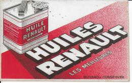 BUVARD   HUILES RENAULT ISSY LES MOULINEAUX SEINE - Automotive
