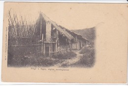 Cpa Old Pc Indochine Vietnam Piège à Tigre - Viêt-Nam
