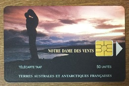 TAAF NOTRE-DAME DES VENTS TÉLÉCARTE 50 UNITÉS RÉFÉRENCE PHONECOTE TAAF13 TIRAGE GLOBAL 1500 EX PHONECARD - TAAF - Terres Australes Antarctiques Françaises