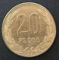 COLOMBIE - COLOMBIA - 20 PESOS 1984 - KM 271 - POPORO QUIMBAYA MUSEO DEL ORO - Colombie