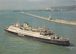 "Oostende-Dover/folkestone  ""Prinses Paola""  -  Lignes Maritimes Sealink - Oostende"