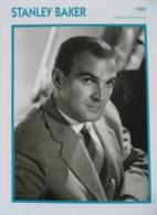 Stanley BAKER (1960)  - Fiche Portrait Star Cinéma - Filmographie -  Photo Collection Edito Service - Fotos