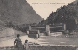 CPA - Gavet - Le Barrage Franco Suisse - France
