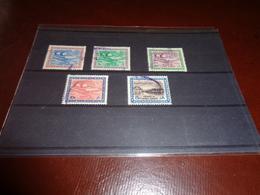 B764  Cinque Francobolli Arabia Saudita - Saudi Arabia