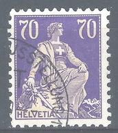CC-/-313-  N° 207a, PAPIER GRILLE  , VOIR LES SCANS ,  Obl.,  Cote 4.00 € . Je Liquide - Switzerland