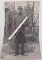 1914 Poilu 11 Eme Régiment D'infanterie Territoriale Beauvais Somme Yser Flandres Flandern Tranchée Ww1 1914 Carte Photo - Guerre, Militaire
