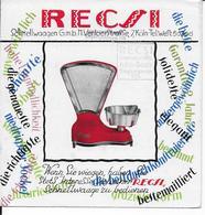 BUVARD  BALANCE RECSI - Buvards, Protège-cahiers Illustrés