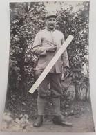 1915 Poilu 264 Eme Régiment D'infanterie OISE Tranchée Ww1 1914 Carte Photo - Guerre, Militaire