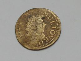 ASSEZ RARE  Double Tournois DE SEDAN 1642  ***** EN ACHAT IMMEDIAT ***** - 1610-1643 Louis XIII Le Juste