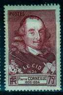 Timbre De France N°335 De 1937 Le Cid Neuf** - Ongebruikt