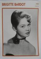 Brigitte BARDOT  (1955)  - Fiche Portrait Star Cinéma - Filmographie -  Photo Collection Edito Service - Fotos