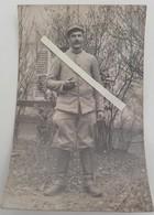 1915 Poilu 106 Eme Régiment Artillerie D'afrique Colonies Artilleur Canons Tranchée Ww1 1914 Carte Photo - Guerre, Militaire