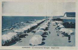 Viareggio - La Meravigliosa Spiaggia - Bagno Lido - HP2149 - Viareggio