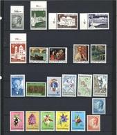 Luxemburg Jahrgang 1975 Postfrisch Mi 919 Fehlt - Luxemburg
