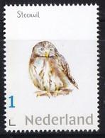 Nederland - Beleef De Natuur - Steenuil - Uil/owl/Eule/chouette - MNH - Owls