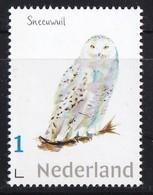 Nederland - Beleef De Natuur - Sneeuwuil - Uil/owl/Eule/chouette - MNH - Owls