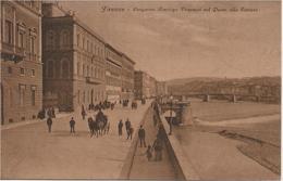 Firenze - Lungarno Amerigo Vespucci Col Ponte Alla Carraia - HP2152 - Firenze